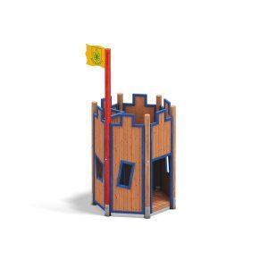 Castillo de madera Desenburg 08.12.480