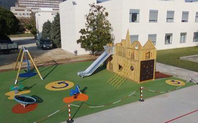 Parque inclusivo en el Institut Guttmann