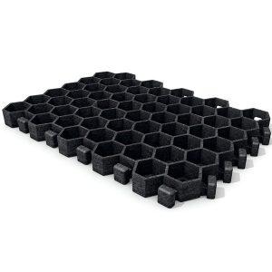 Losetas de rejilla fabricada en plástico reciclado